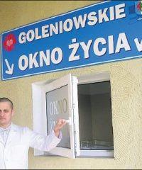 Okno życia w Goleniowie