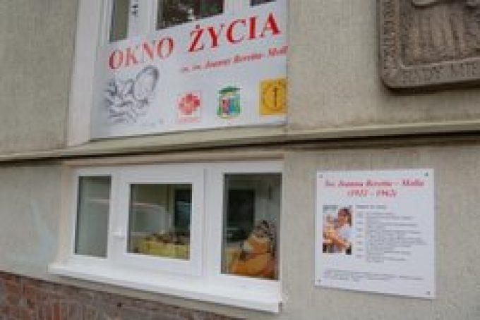 Okno życia w Koszalinie